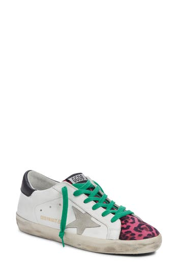 Golden Goose Superstar Leopard Print Sneaker