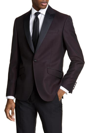 Ted Baker London Jules Trim Fit Wool Dinner Jacket