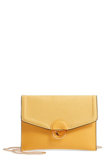 Topshop Cairo Faux Leather Crossbody Bag