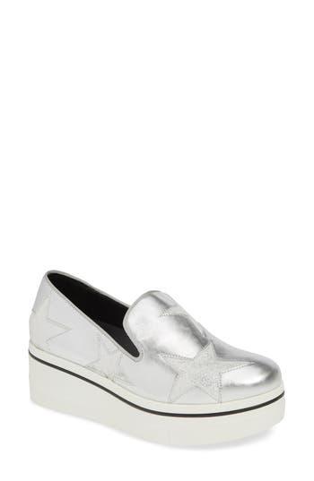 Stella McCartney Binx Stars Platform Sneaker