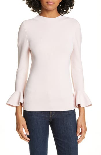 Ted Baker London Brinlo Frill Sleeve Sweater