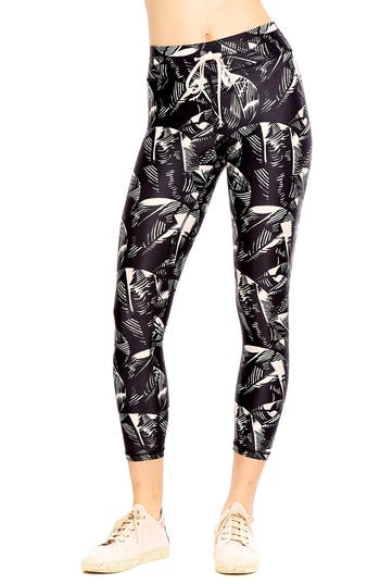 The Upside Japanese Forest Crop Leggings