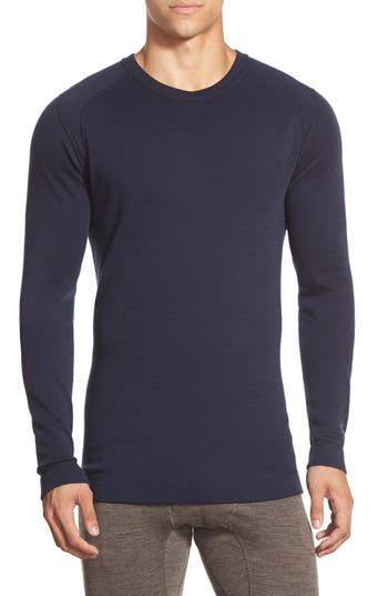 Smartwool Merino 250 Base Layer Crewneck T-Shirt, Blue