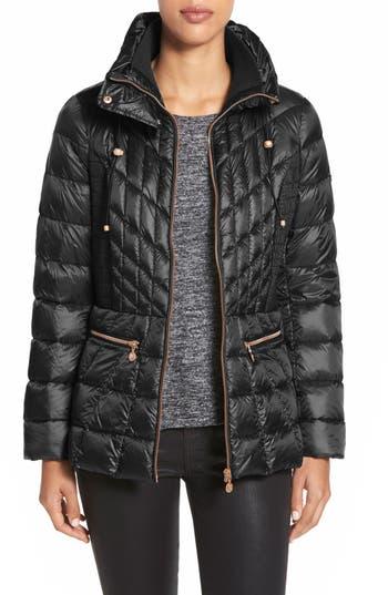 Bernardo Packable Jacket With Down & Primaloft Fill