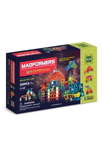 Boys Magformers S.t.e.a.m. Basic Magnetic Construction Set