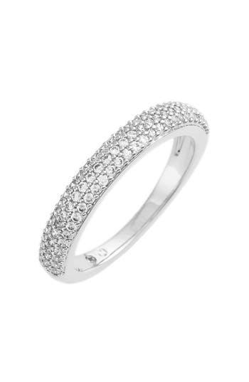 Women's Nadri Stackable Pave Cubic Zirconia Ring