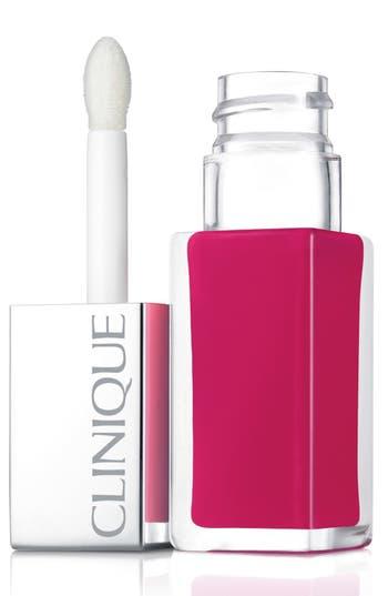 Clinique 'Pop Lacquer' Lip Color & Primer - Go Go Pop