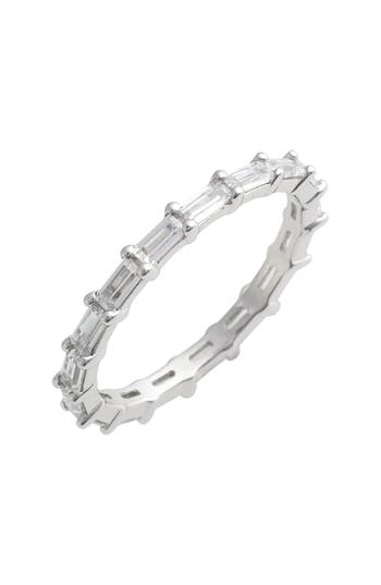 Women's Judith Jack Stackable Baguette Band Ring