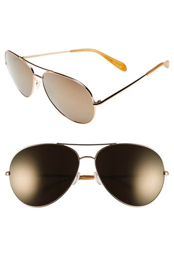 Oliver Peoples Sayer 6m Oversized Aviator Sunglasses -