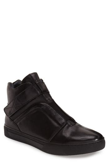 Jump Scully High Top Sneaker- Black