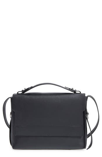 Allsaints 'Paradise' Leather Shoulder Bag - Black