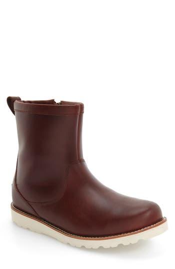 Ugg Hendren Tl Waterproof Zip Boot, Red