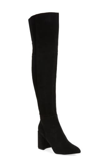 Topshop Bounty Pointy Toe Over The Knee Boot