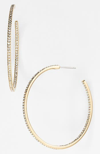 Nadri Medium Inside Out Hoop Earrings