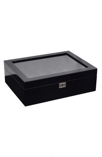 WOLF Savoy Ten-Piece Watch Box