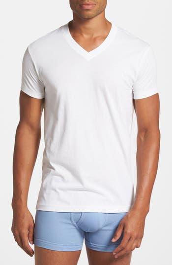 Men's 2(X)Ist Pima Cotton V-Neck T-Shirt