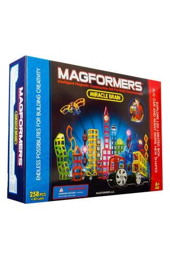 Boys Magformers Miracle Brain Construction Set