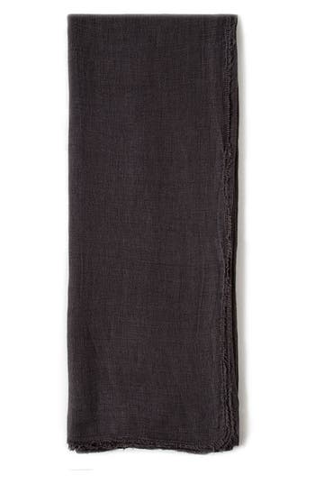 Pom Pom At Home Carmel Oversize Throw Blanket, Size One Size - Black