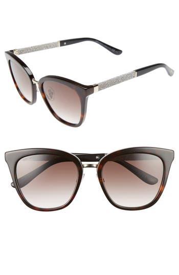 Jimmy Choo Fabry 5m Sunglasses - Havana