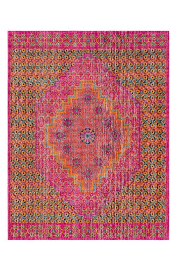 Surya Home Tessera Global Rug, ft 0in x 3ft 0in - Pink