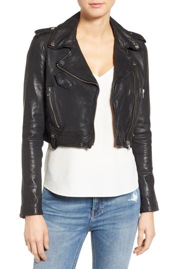 Soft Leather Jacket | Nordstrom