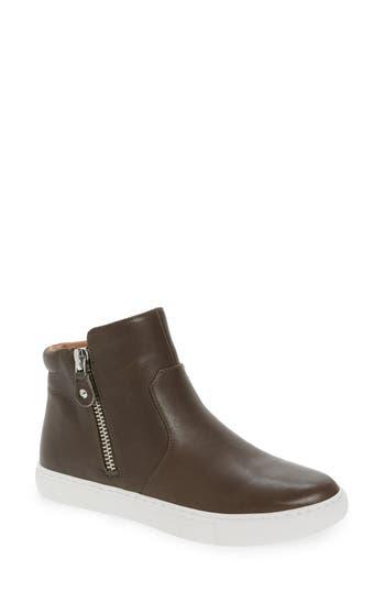 Gentle Souls Carole Zip Sneaker, Grey