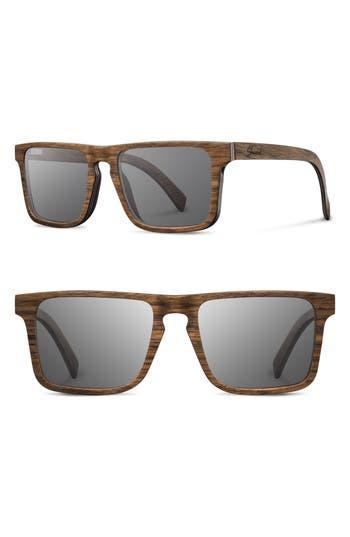 Shwood Govy 2 52Mm Polarized Wood Sunglasses -