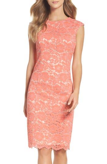 Women's Vince Camuto Lace Body-Con Dress