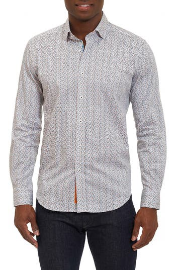 Men's Robert Graham Phillip Print Sport Shirt