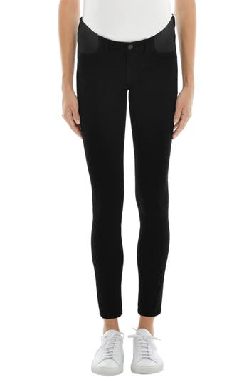 Mama J Luxe Sateen Maternity Skinny Jeans