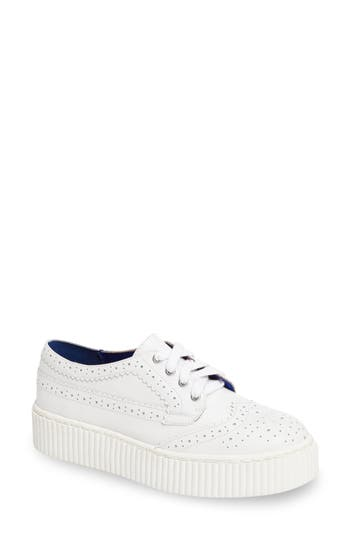 Shellys London Dilys Platform Sneaker White