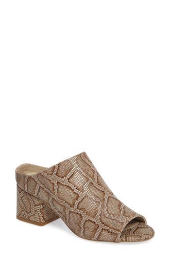 Women's Matisse Misty Block Heel Mule, Size 6 M - Beige
