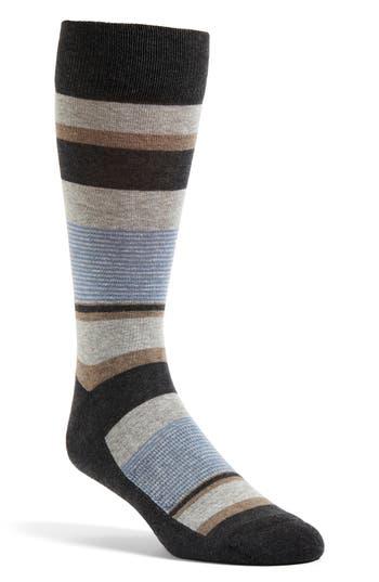Men's Nordstrom Block Stripe Multi Socks