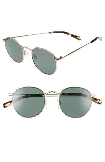 Women's Raen Benson 51Mm Polarized Sunglasses - Gold/ Brindle