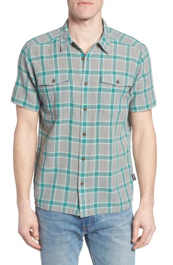 Patagonia Steersman Regular Fit Plaid Shirt