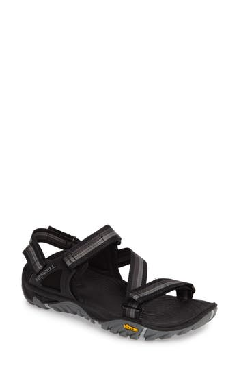 Merrell All Out Blaze Sport Sandal, Black