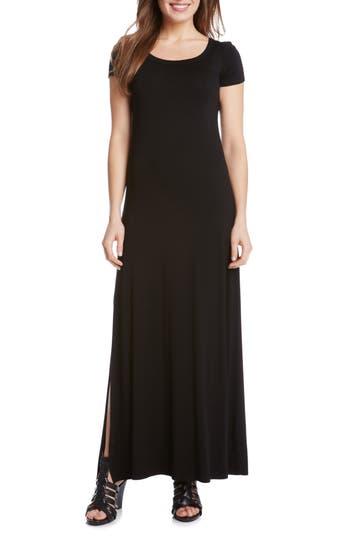 Petite Karen Kane Cap Sleeve Jersey Maxi Dress