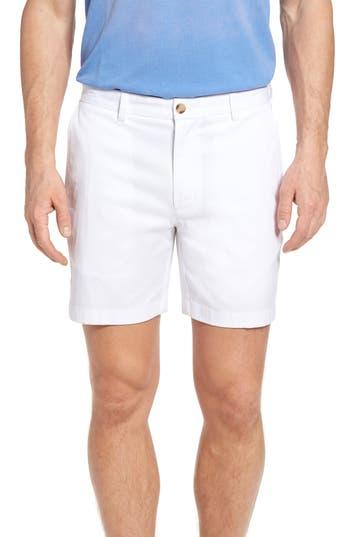 Vineyard Vines 7 Inch Breaker Stretch Shorts, White