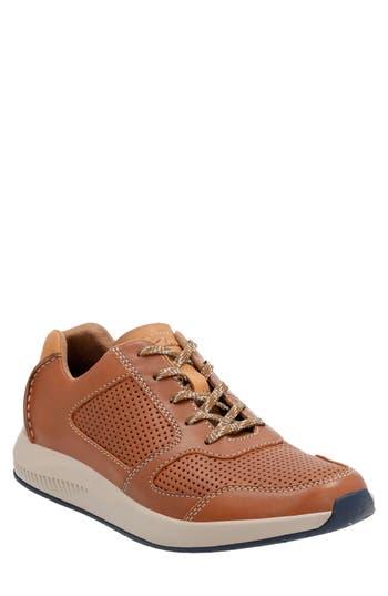 Clarks Sirtis Mix Sneaker, Brown
