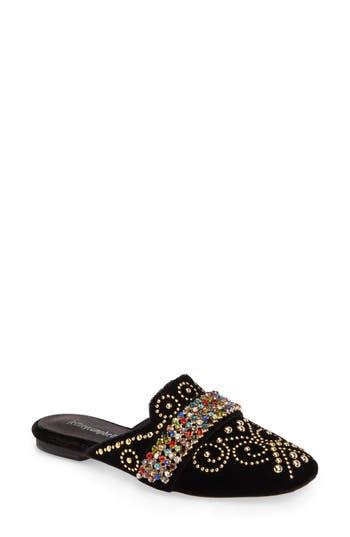 Women's Jeffrey Campbell Ravis Embellished Loafer Mule