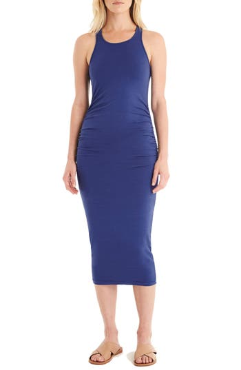 Michael Stars Racerback Midi Dress, Blue