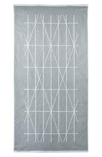 Dkny Geometrix Bath Towel, Size One Size - Grey