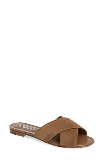 Women's Manolo Blahnik Otawi Slide Sandal