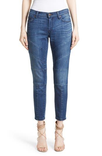 Women's Burberry Arno Moto Skinny Jeans