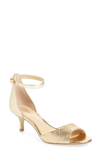 Imagine Vince Camuto Kiani Sandal- Metallic