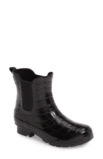 Roma Waterproof Chelsea Boot, Black