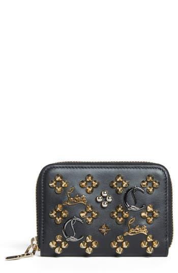 Women's Christian Louboutin Panettone Leather Coin Purse -