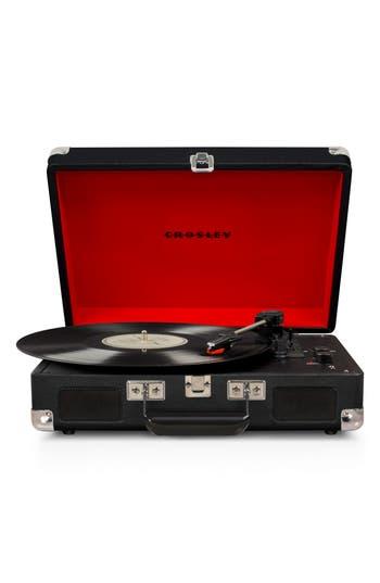Crosley Radio Cruiser Deluxe Turntable, Size One Size - Black