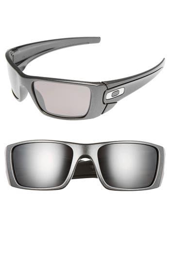 Men's Oakley Fuel Cell 60Mm Polarized Sunglasses - Grey