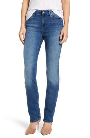 Mavi Jeans Kendra High Waist Stretch Denim Jeans, Pink
